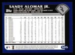 2003 Topps #595  Sandy Alomar Jr.  Back Thumbnail