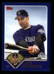 2003 Topps #502  Jose Hernandez  Front Thumbnail
