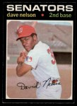 1971 O-Pee-Chee #241  Dave Nelson  Front Thumbnail