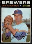 1971 O-Pee-Chee #236  Bob Humphreys  Front Thumbnail