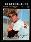 1971 O-Pee-Chee #99  Mark Belanger  Front Thumbnail