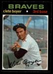 1971 O-Pee-Chee #374  Clete Boyer  Front Thumbnail
