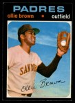 1971 O-Pee-Chee #505  Ollie Brown  Front Thumbnail