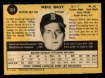 1971 O-Pee-Chee #363  Mike Nagy  Back Thumbnail