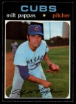 1971 O-Pee-Chee #441  Milt Pappas  Front Thumbnail