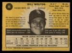 1971 O-Pee-Chee #80  Bill Melton  Back Thumbnail