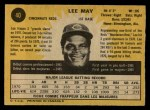 1971 O-Pee-Chee #40  Lee May  Back Thumbnail