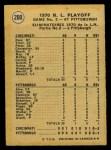 1971 O-Pee-Chee #200   -  Bobby Tolan 1970 NL Playoffs - Game 2 - Tolan Scores For Third Time Back Thumbnail