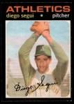 1971 O-Pee-Chee #215  Diego Segui  Front Thumbnail