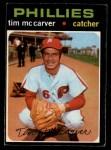 1971 O-Pee-Chee #465  Tim McCarver  Front Thumbnail