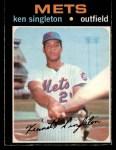 1971 O-Pee-Chee #16  Ken Singleton  Front Thumbnail