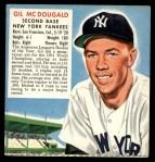1952 Red Man #14 AL x Gil McDougald  Front Thumbnail
