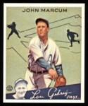 1934 Goudey Reprint #69  John Marcum  Front Thumbnail