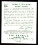 1934 Goudey Reprint #26  Gerald Walker  Back Thumbnail
