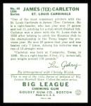 1934 Goudey Reprint #48  Tex Carleton  Back Thumbnail