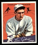 1934 Goudey Reprint #23  Charley Gehringer  Front Thumbnail