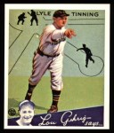 1934 Goudey Reprint #71  Lyle Tinning  Front Thumbnail