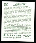 1934 Goudey Reprint #89  Lonnie Frey   Back Thumbnail