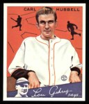1934 Goudey Reprint #12  Carl Hubbell  Front Thumbnail