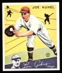 1934 Goudey Reprint #16  Joe Kuhel  Front Thumbnail