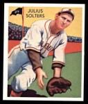 1934 Diamond Stars Reprint #85  Julius Solters  Front Thumbnail