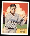 1934 Diamond Stars Reprint #42  Jimmy Dykes  Front Thumbnail