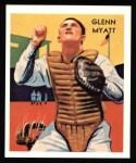 1934 Diamond Stars Reprint #58  Glenn Myatt  Front Thumbnail