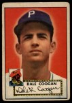 1952 Topps #87  Dale Coogan  Front Thumbnail