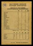 1971 O-Pee-Chee #198   1970 AL Playoffs - Summary - Orioles Celebrate Back Thumbnail