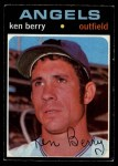 1971 O-Pee-Chee #466  Ken Berry  Front Thumbnail