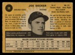 1971 O-Pee-Chee #98  Joe Decker  Back Thumbnail