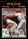 1971 O-Pee-Chee #40  Lee May  Front Thumbnail
