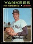 1971 O-Pee-Chee #28  Ron Klimkowski  Front Thumbnail
