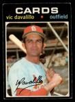 1971 O-Pee-Chee #4  Vic Davalillo  Front Thumbnail