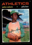 1971 O-Pee-Chee #523  Blue Moon Odom  Front Thumbnail
