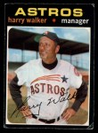 1971 O-Pee-Chee #312  Harry Walker  Front Thumbnail