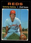 1971 O-Pee-Chee #272  Tommy Helms  Front Thumbnail
