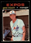 1971 O-Pee-Chee #59  Gene Mauch  Front Thumbnail