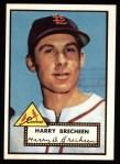 1952 Topps REPRINT #263  Harry Brecheen  Front Thumbnail