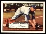 1952 Topps REPRINT #355  Bobby Morgan  Front Thumbnail