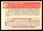 1952 Topps REPRINT #358  John Kucab  Back Thumbnail
