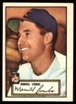 1952 Topps REPRINT #18  Merrill Combs  Front Thumbnail
