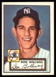 1952 Topps REPRINT #128  Don Bollweg  Front Thumbnail