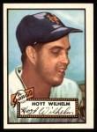 1952 Topps REPRINT #392  Hoyt Wilhelm  Front Thumbnail