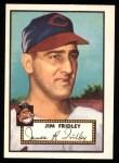 1952 Topps REPRINT #399  Jim Fridley  Front Thumbnail