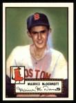 1952 Topps REPRINT #119  Mickey McDermott  Front Thumbnail