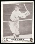 1940 Play Ball Reprint #51  Don Heffner  Front Thumbnail