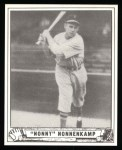 1940 Play Ball Reprint #196  Nonny Nonnenkamp  Front Thumbnail
