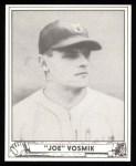 1940 Play Ball Reprint #144  Joe Vosmik  Front Thumbnail