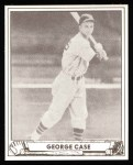 1940 Play Ball Reprint #15  George Case  Front Thumbnail